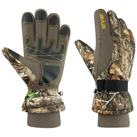 Hot Shot Bison Glove Realtree Edge X-Large