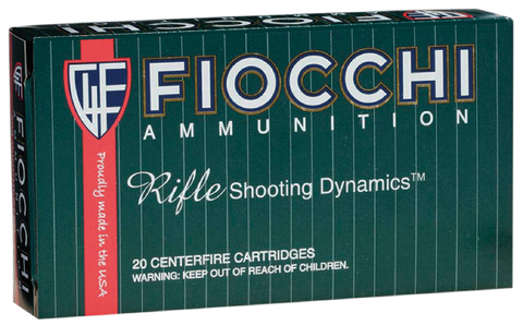 Fiocchi 308C FMJ 308 Win/7.62 NATO Pointed Soft Point 180 GR 20Bx/10Cs