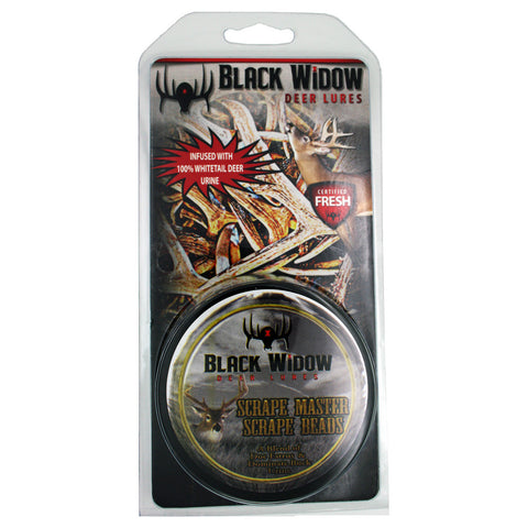 Black Widow Scrape Beads Scrape Master 2 oz.
