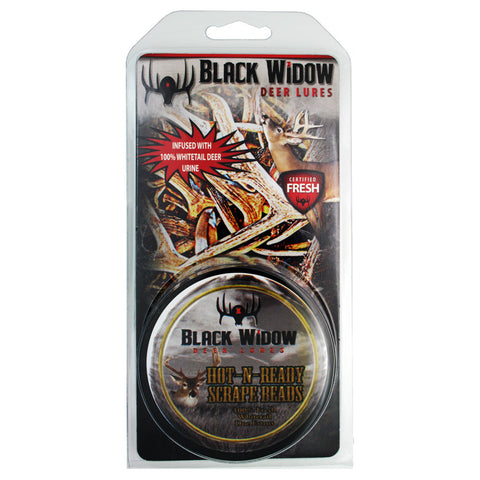 Black Widow Scrape Beads Hot N Ready 2 oz.