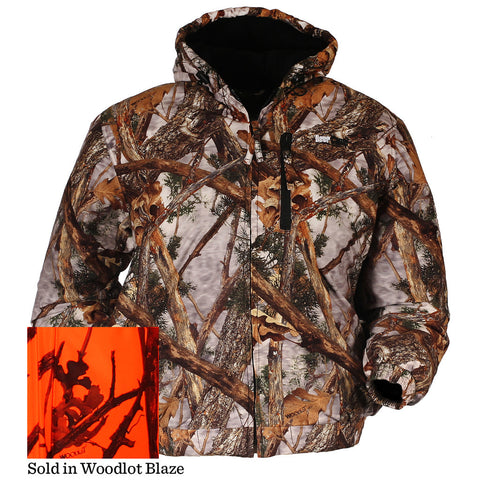 Gamehide Deer Camp Jacket Woodlot Blaze Medium
