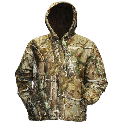 Gamehide Deer Camp Youth Jacket Realtree AP Large