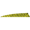 Gateway Shield Cut Feathers Barred Yellow 4 in. RW 100 Pk.
