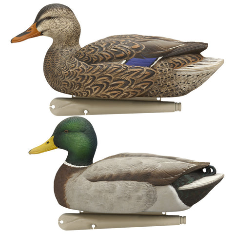 Avian X Top Flight Duck Decoy Open Water Mallard 6 pk.