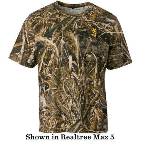 Browning Basics Short Sleeve Shirt Realtree Xtra Large