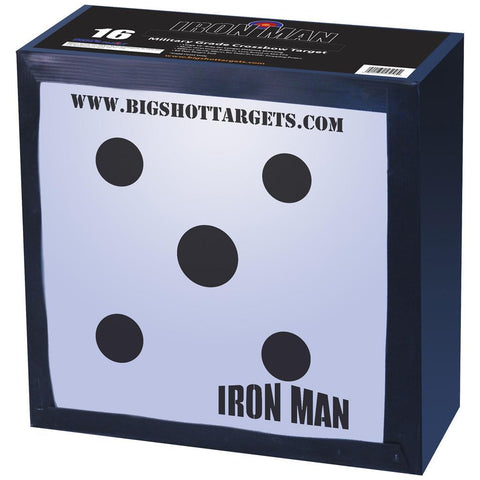 Big Shot Iron Man 16 Crossbow Target
