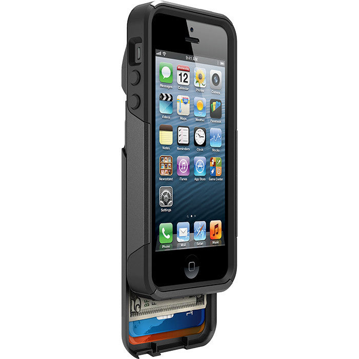Otterbox iP5 & 5S Commuter Wallet in Black