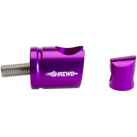Shrewd Quick Disconnect Purple 8 Degree