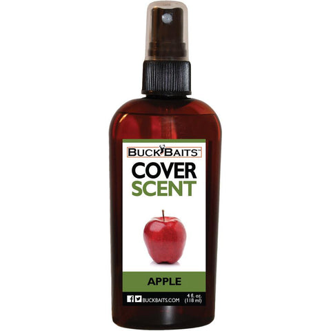 Buck Baits Cover Scent Apple 4 oz.