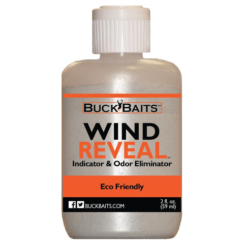 Buck Baits Wind Reveal Wind Indicator 2 oz. 2 pk.