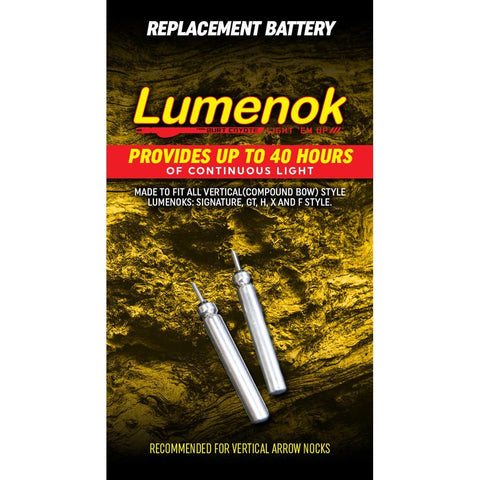 Lumenok Replacment Batteries For Nocks 2 pk.