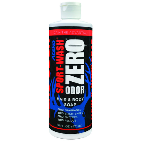 Atsko Zero Sport Wash Hair and Body Soap 16 oz.