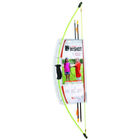 Bear 1st Shot Bow Set Neon Green 8-12lbs. RH/LH