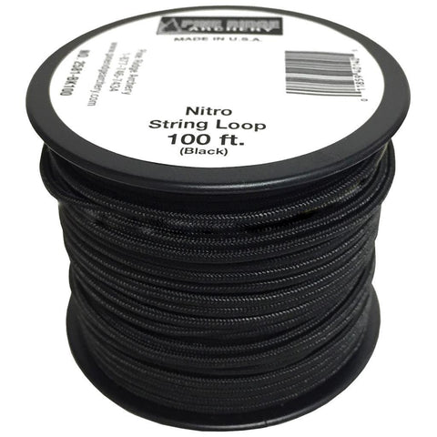 Pine Ridge Nitro String Loop Black 100 ft.