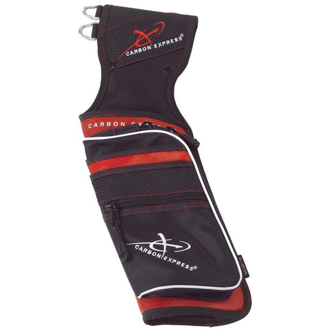 Carbon Express Target Quiver Red/Black RH