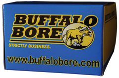 Buffalo Bore Ammunition 21A/20 10mm Automatic 200 GR FMJ Flat Nose 20 Bx/ 12 Cs