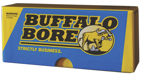 Buffalo Bore 8A/20 Rifle 45-70 Gov Hard Cast Lead Flat Nose 430GR 20Box/12Case