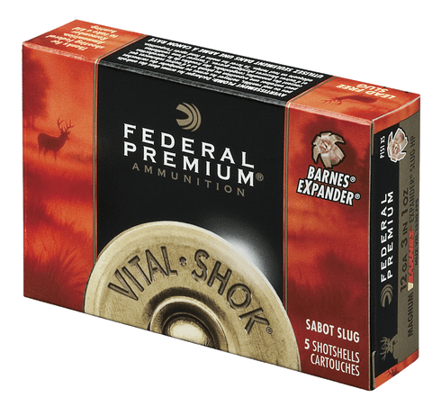 "Federal P209TC Vital-Shok Trophy Copper Sabot Slug 20 Gauge 3"" 5/8 oz Sabot Slug Shot 5 Bx/ 50"
