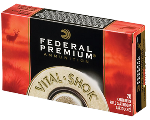 Fed P270WSMTC1 Vital-Shok 270 Win Short Mag Trophy Copper 130 GR 20Box/10Case