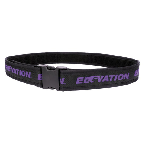 Elevation Pro Shooters Belt Purple 28-46in.