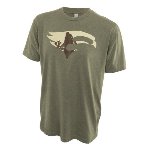 Elevation HUNT Tee Military Green Medium