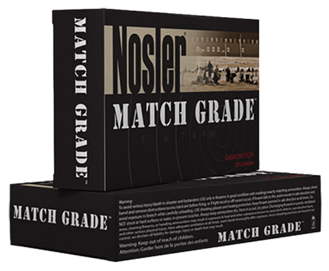 Nosler 60072 Trophy 308 Win/7.62 NATO Custom Competition 175 GR 20Box/10Case