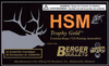 HSM BER65X55140V Trophy Gold 6.5X55mm Swedish 140 GR BTHP 20 Bx/ 1 Cs