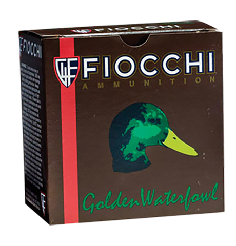 "Fiocchi 123SGWT Steel Waterfowl Shotshells 12 Ga 3"" 1-1/4oz T Shot 25Box/10Case - 250 Rounds"