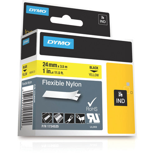 "Dymo Rhino Yellow 1"" Nylon"