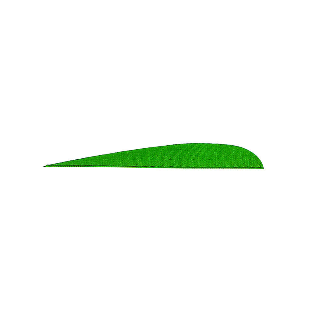 Gateway Feathers Green 4 in. LW 100 pk.