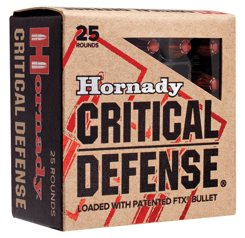 HORN 90070 Critical Defense 32NAA 80GR Flex Tip Expanding 25Bx/10Cs