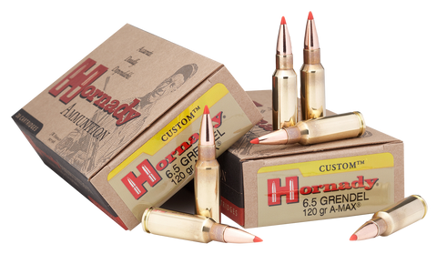 Hornady 8152 Custom 6.5mm Grendel 123 GR SST 20 Bx/ 10 Cs