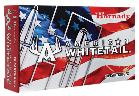 Hornady 8144 American Whitetail 25-06 Remington 117 GR InterLock 20 Bx/ 10 Cs