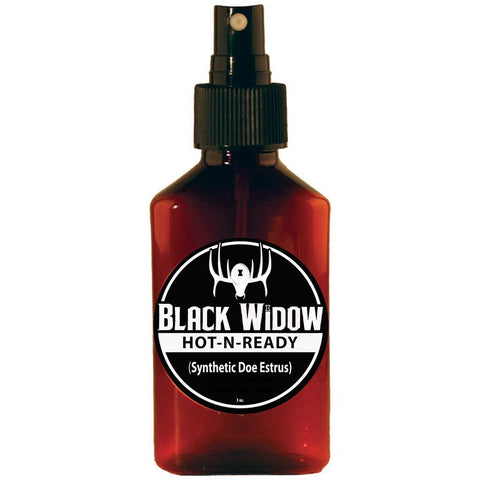 Black Widow Hot-N-Ready Synthetic Deer Lure Doe Estrus 3 oz.