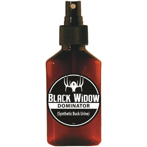 Black Widow Dominator Synthetic Deer Lure Buck Urine 3 oz.