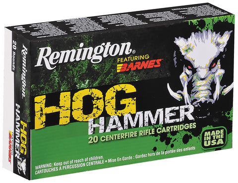 Remington PHH308W2 Hog Hammer TSX Boat Tail 308 Win/7.62 NATO 168GR 20Bx/10Cs