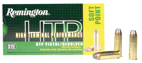 Rem Ammo RTP41MG1 HTP 41RemMag 210GR Soft Point 50Bx/10Cs