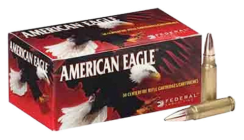 Federal AE68A American Eagle 6.8mm Remington SPC 115 GR Full Metal Jacket 20 Bx/ 10 Cs