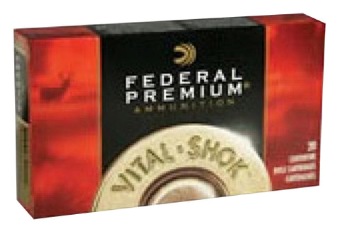 Federal  P338TC1 Vital-Shok 338 Win 225GR Trophy Copper 20Bx/10Case