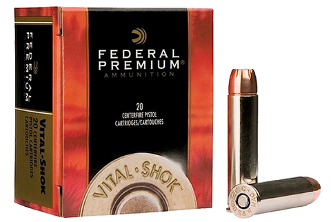 Federal P41SA Premium 41 Remington Magnum Swift A-Frame 210 GR 20Box/10Case