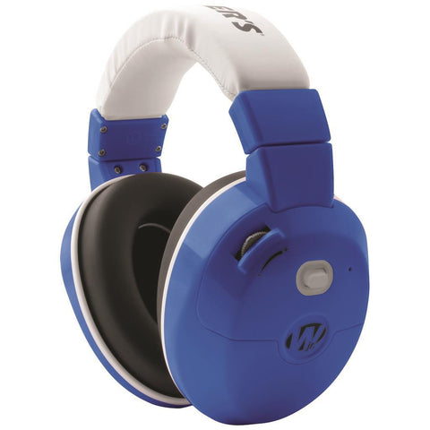 Walkers Youth Active Ear Muffs Electronic Muff Royal Blue