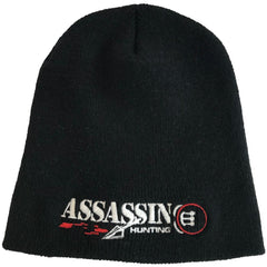 Assassin Fleece Beenie Bloodtrail Black OSFA