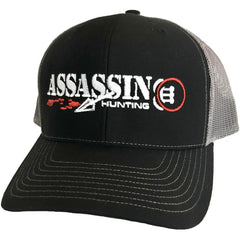 Assassin Mesh Back Hat Bloodtrail Black/Charcoal OSFA