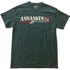 Assassin T-Shirt Bloodtrail Charcoal 2X-Large