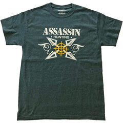 Assassin T-Shirt Broadhead Charcoal Large