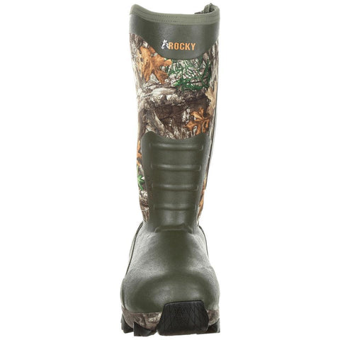 Rocky Claw Rubber Boot 1,200g Realtree Edge 9