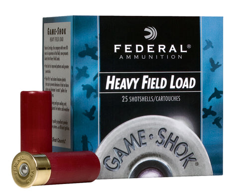 "Federal H2895 Game-Shok Upland Hi-Brass 28 Gauge 2.75"" 1 oz 5 Shot 25 Bx/ 10 Cs"
