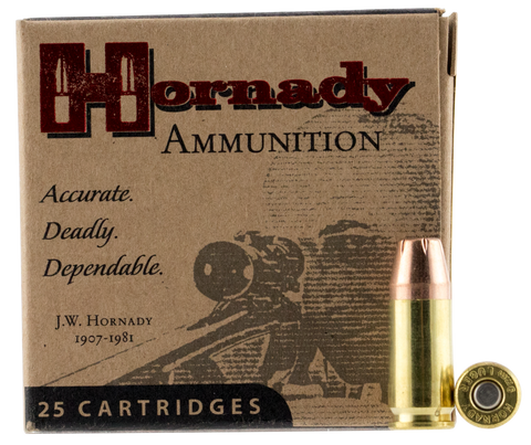 Hornady 90282 Custom 9mm Luger 147 GR XTP Hollow Point 25 Bx/ 10 Cs