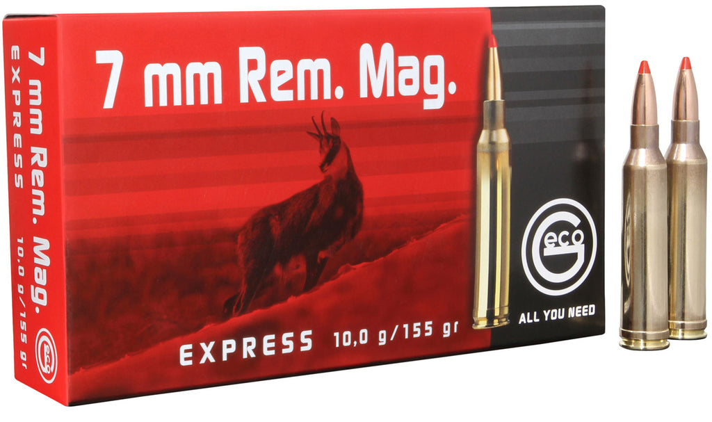 284340020 Express Geco  7mm Remington Magnum 155 GR Express Tip 20 Bx/10 Cs