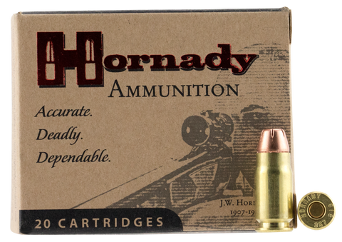 Hornady 9131 357 Sig Sauer Jacketed Flat Point/XTP 147 GR 20Box/10Case